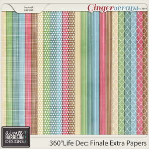 360°Life Dec: Finale Extra Papers by Aimee Harrison