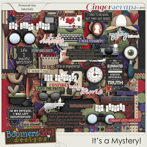 It's a Mystery! by BoomersGirl Designs