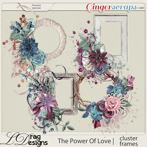 The Power Of Love: Cluster Frames by LDragDesigns