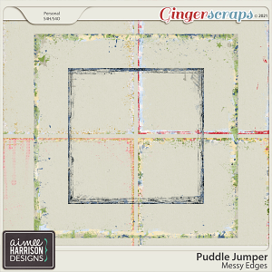 Puddle Jumper Messy Edges by Aimee Harrison