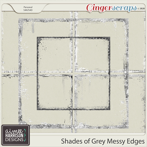 Shades of Grey Messy Edges by Aimee Harrison