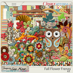 Fall Flower Frenzy from Designs by Lisa Minor