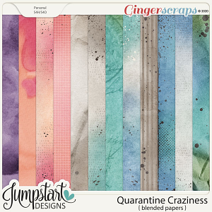 Quarantine Craziness {Blended Papers} by Jumpstart Designs