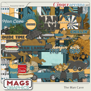 The Man Cave KIT by MagsGraphics