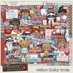 Million Dollar Smile by BoomersGirl Designs
