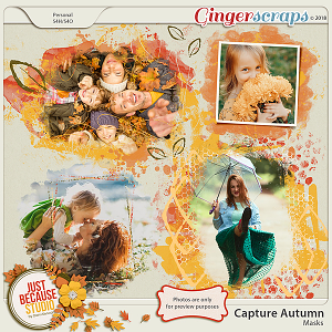 Capture Autumn Masks by JB Studio