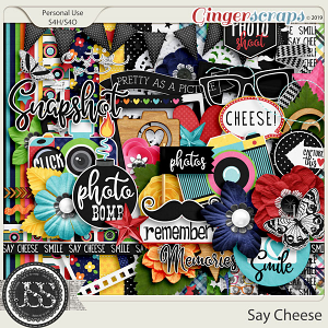 Say Cheese Digital Scrapbook Kit