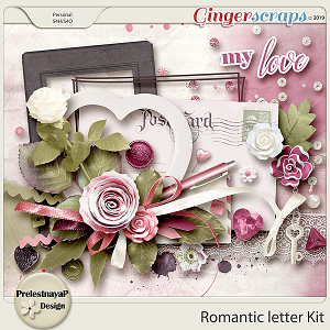 Romantic letter Kit