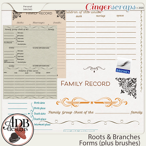 Roots and Branches Forms and Brushes by ADB Designs