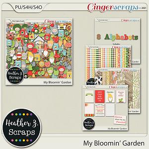 My Bloomin' Garden BUNDLE by Heather Z Scraps