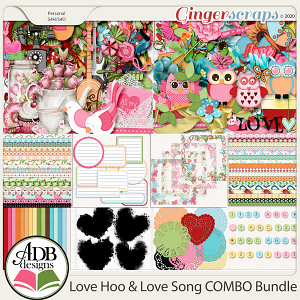 Love Hoo – Love Song Combo Bundle by ADB Designs