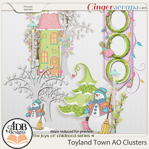 Toyland Town AO Clusters by ADB Designs