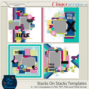 Stacks on Stacks Templates by Miss Fish