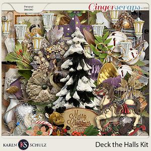 Deck the Halls Kit by Karen Schulz