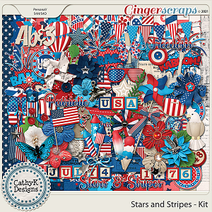 Stars and Stripes - Kit by CathyK Designs