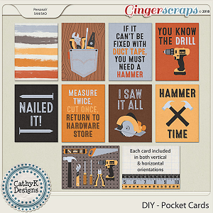 DIY - Pocket Cards by CathyK Designs