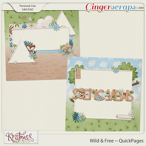 Wild & Free QuickPages
