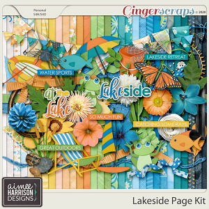 Lakeside Page Kit by Aimee Harrison