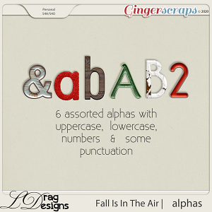 Fall Is In The Air: Alphas by LDragDesigns