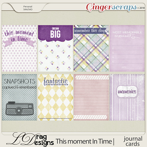 This Moment In Time: Journal Cards by LDragDesigns