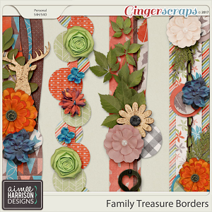 Family Treasure Borders by Aimee Harrison