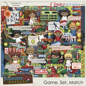Game, Set, Match by BoomersGirl Designs