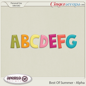 Best Of Summer - Alpha by Aprilisa Designs