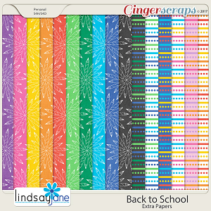 Back to School Extra Papers by Lindsay Jane