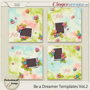 Be a Dreamer Templates Vol.2
