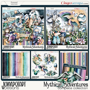 Mythical Adventures {Complete Collection}