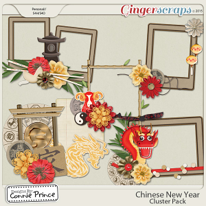 Chinese New Year - Cluster Pack