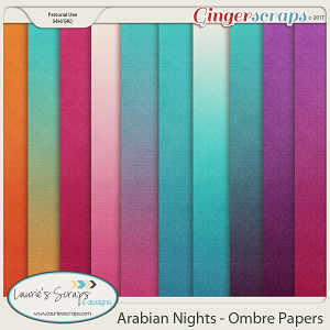 Arabian Nights Ombre Papers