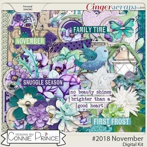 #2018 November - Kit by Connie Prince