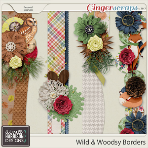 Wild and Woodsy Borders by Aimee Harrison