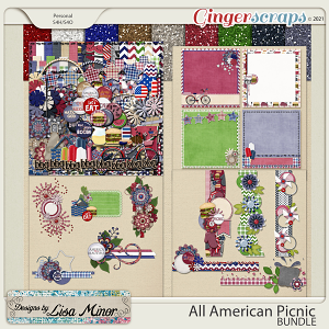 All American Picnic BUNDLE from Designs by Lisa Minor
