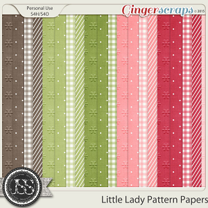 Little Lady Pattern Papers