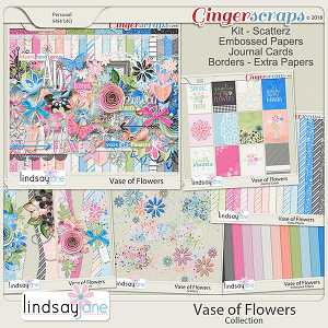 Vase of Flowers Collection by Lindsay Jane