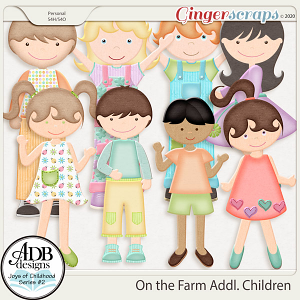 On the Farm Additional Children by ADB Designs