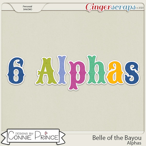 Belle of the Bayou - Alpha Pack AddOn by Connie Prince