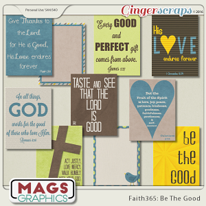 Faith365 Be The Good JOURNAL CARDS