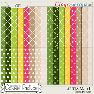 #2018 March - Extra Papers by Connie Prince