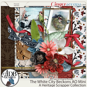 The White City Beckons AO Mini Kit by ADB Designs