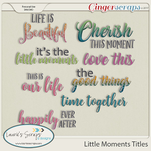 Little Moments Titles