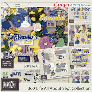 360°Life All About September Collection by Aimee Harrison
