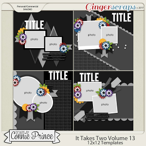 It Takes Two Volume 13 - 12x12 Temps (CU Ok)