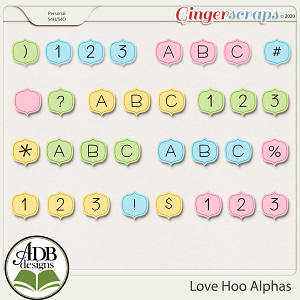 Love Hoo Alphas by ADB Designs