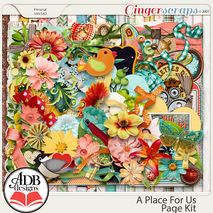 A Place For Us Page Kit by ADB Designs
