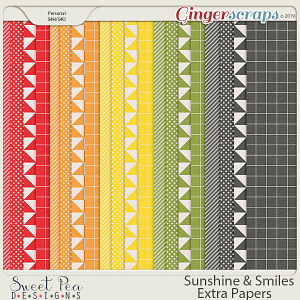 Sunshine and Smiles Extra Paper Pack