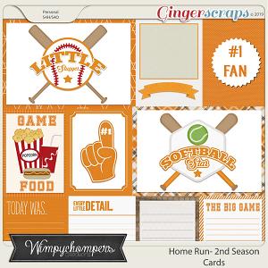 Home Run- Second Season Orange Cards