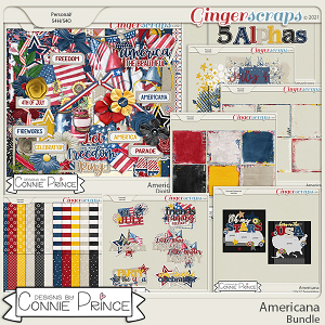 Americana  - Bundle by Connie Prince